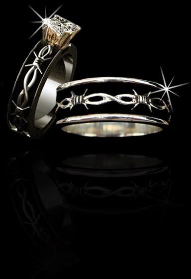 Cowboy Wedding Rings Wedding Photography
