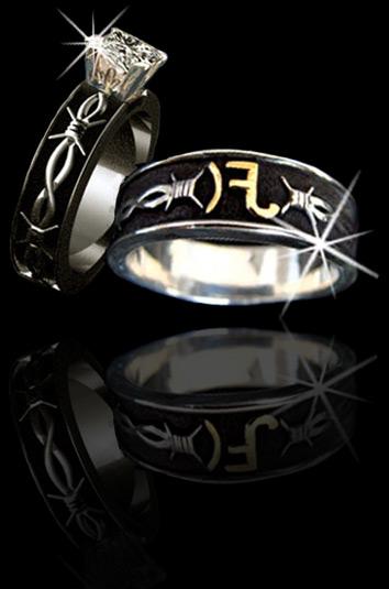 wedding rings bull