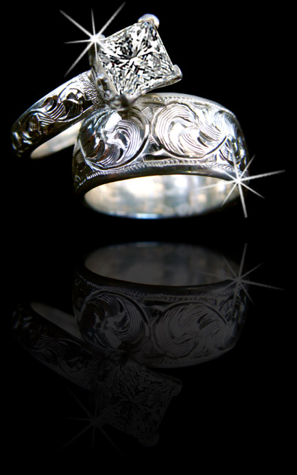 wedding rings bull