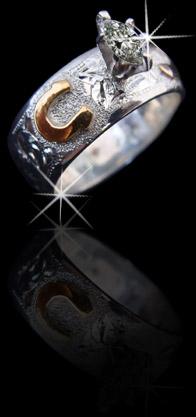 Rodeo Wedding Rings Image Of Wedding Ring Enta Web Org